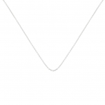 18 carat white gold chain by Ginette NY