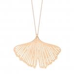 18 carat rose gold necklaceby Ginette NY