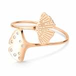 18 carat rose gold and diamonds ringby Ginette NY
