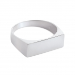 18 carat white gold ring Ginette NY