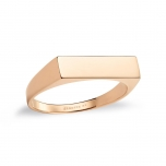 bague or rose 18 caratsby Ginette NY
