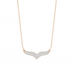 18 carat rose gold and diamonds Ginette NY