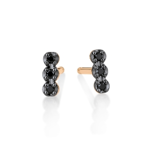 18 carat rose gold and diamonds puce<br>by Ginette NY