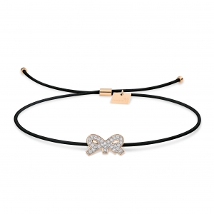 bracelet or rose 18 carats et diamants<br>by Ginette NY