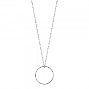 18 carat white gold necklace Ginette NY