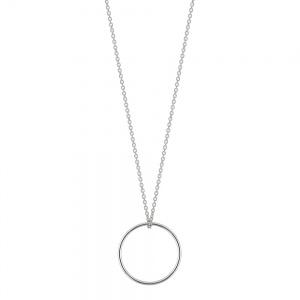 mini white circle on chain