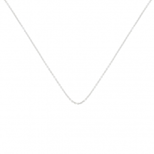 chaîne or blanc 18 carats<br>by Ginette NY
