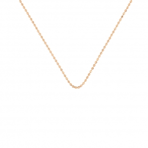 chaîne or rose 18 carats<br>by Ginette NY
