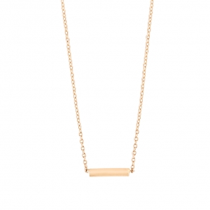 collier ors rose 18 carats by Ginette NY