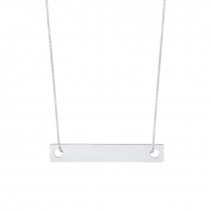 collier or blanc 18 carats    by Ginette NY