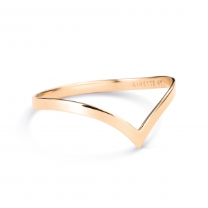 18 carat rose gold ring  Ginette NY