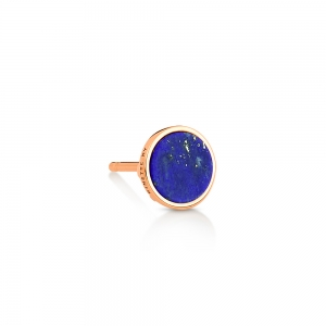 solo ever lapis disc stud
