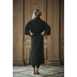 robe noire en coton<br>by Ginette NY