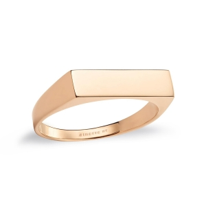 18k rose gold ring<br>by Ginette NY