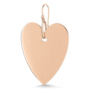18 carat rose gold solo earring<br>by Ginette NY