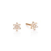 mini diamond star studs