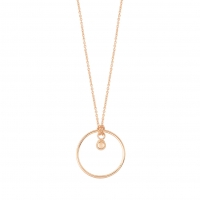 little circle with bead on chain