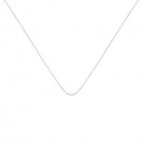 chain or blanc 50 cm
