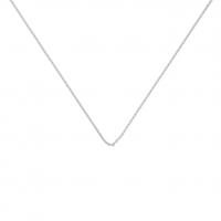 chain or blanc 70 cm