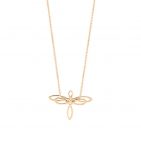 mini dragonfly on chain