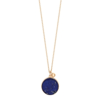 ever lapis disc on chain