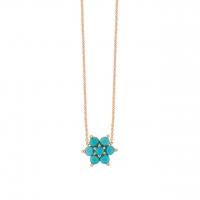 fallen sky star necklace