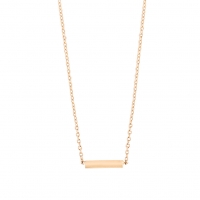 gold strip necklace