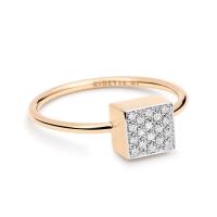 baby diamond ever square ring