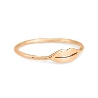 mini french kiss ring