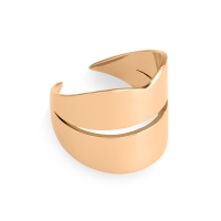 french kiss large open ring