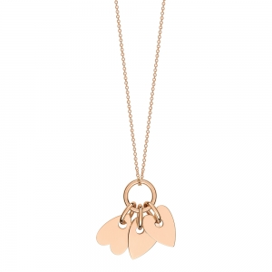 18 carat rose gold necklaceby Ginette NY