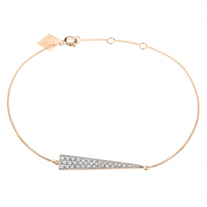 mini diamond arrow bracelet