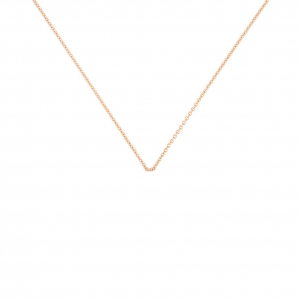 18 carat rose gold chain Ginette NY