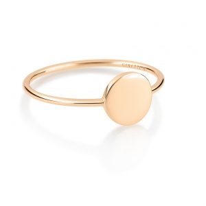 18 carat rose gold ringby Ginette NY