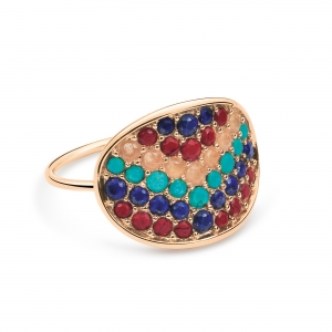 wise multi stone sequin ring