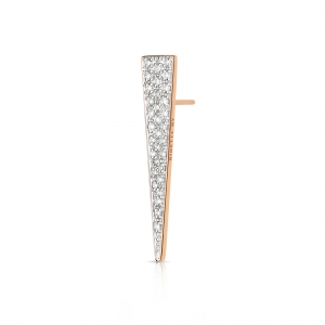 solo diamond arrow earring