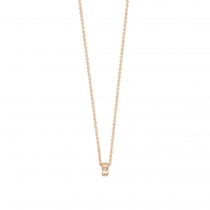 18 carat rose gold and 